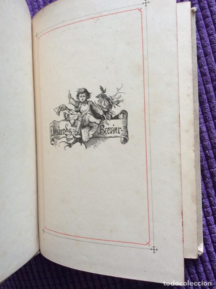 Libros antiguos: EXCELENTE ENCUADERNACIÓN. EJEMPLAR N.º 120 . EN ALEMÁN. - Foto 3 - 270370213