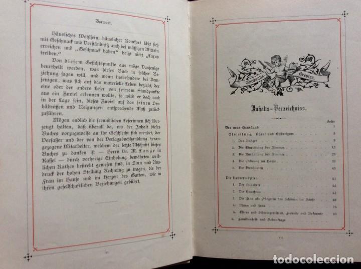 Libros antiguos: EXCELENTE ENCUADERNACIÓN. EJEMPLAR N.º 120 . EN ALEMÁN. - Foto 7 - 270370213