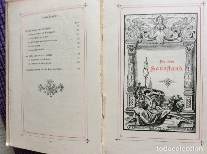 Libros antiguos: EXCELENTE ENCUADERNACIÓN. EJEMPLAR N.º 120 . EN ALEMÁN. - Foto 8 - 270370213