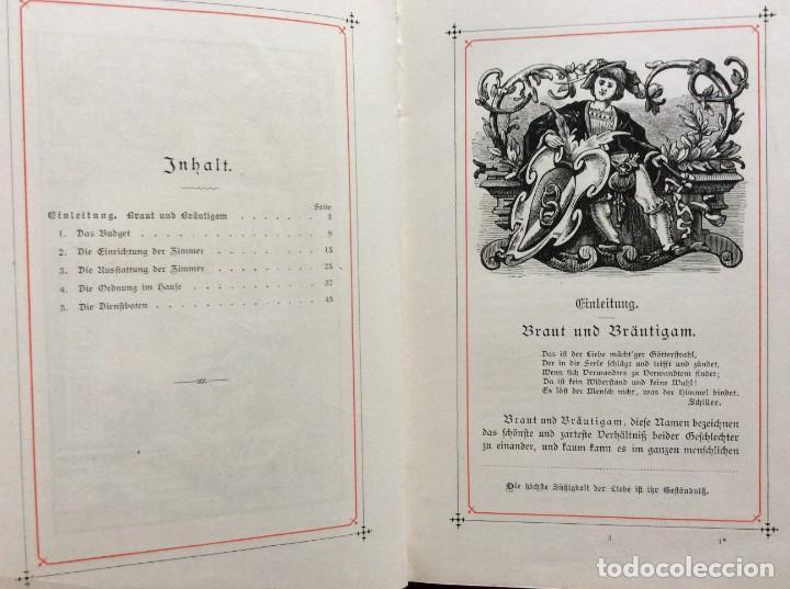 Libros antiguos: EXCELENTE ENCUADERNACIÓN. EJEMPLAR N.º 120 . EN ALEMÁN. - Foto 12 - 270370213