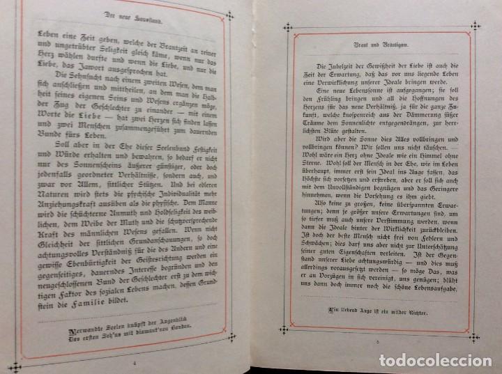 Libros antiguos: EXCELENTE ENCUADERNACIÓN. EJEMPLAR N.º 120 . EN ALEMÁN. - Foto 14 - 270370213