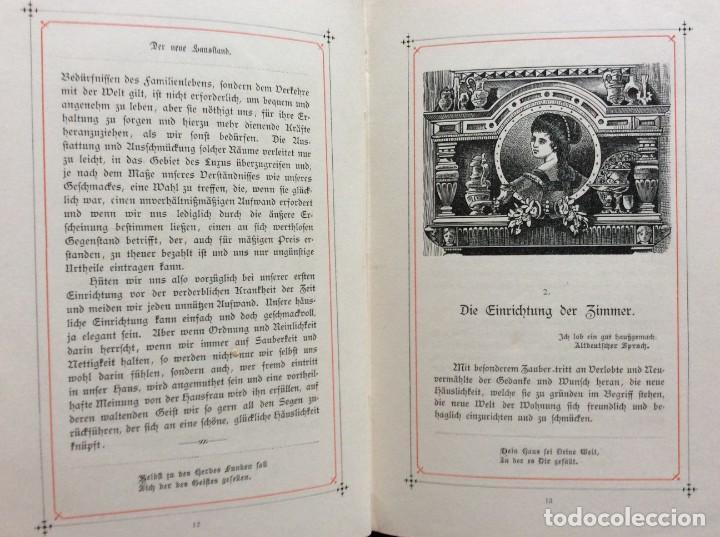 Libros antiguos: EXCELENTE ENCUADERNACIÓN. EJEMPLAR N.º 120 . EN ALEMÁN. - Foto 15 - 270370213