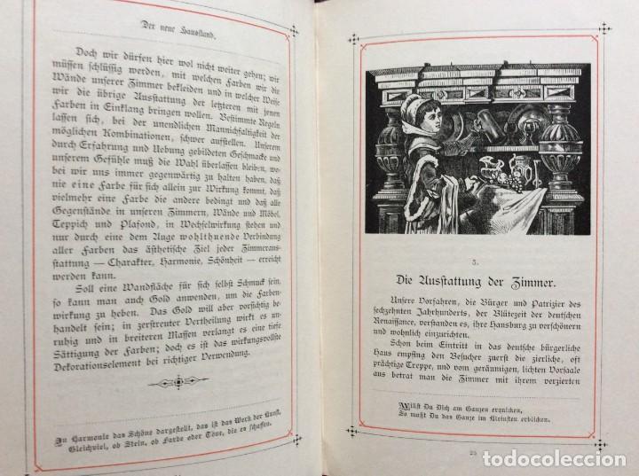 Libros antiguos: EXCELENTE ENCUADERNACIÓN. EJEMPLAR N.º 120 . EN ALEMÁN. - Foto 16 - 270370213