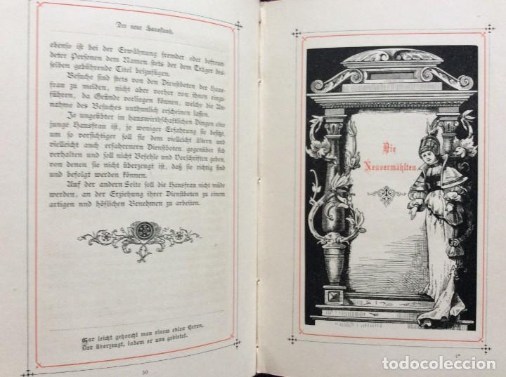 Libros antiguos: EXCELENTE ENCUADERNACIÓN. EJEMPLAR N.º 120 . EN ALEMÁN. - Foto 17 - 270370213