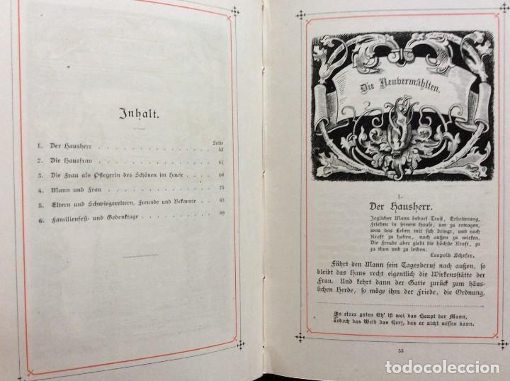 Libros antiguos: EXCELENTE ENCUADERNACIÓN. EJEMPLAR N.º 120 . EN ALEMÁN. - Foto 19 - 270370213