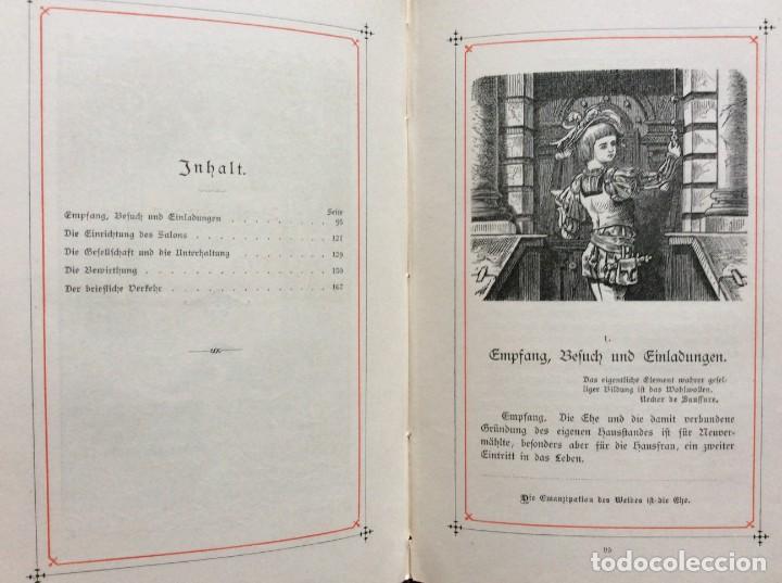 Libros antiguos: EXCELENTE ENCUADERNACIÓN. EJEMPLAR N.º 120 . EN ALEMÁN. - Foto 20 - 270370213