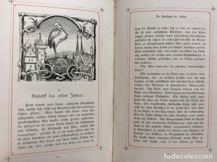 Libros antiguos: EXCELENTE ENCUADERNACIÓN. EJEMPLAR N.º 120 . EN ALEMÁN. - Foto 21 - 270370213