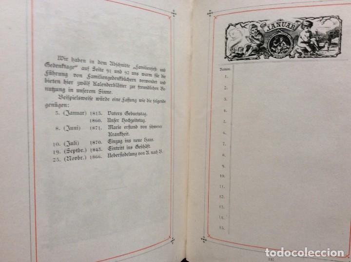 Libros antiguos: EXCELENTE ENCUADERNACIÓN. EJEMPLAR N.º 120 . EN ALEMÁN. - Foto 22 - 270370213