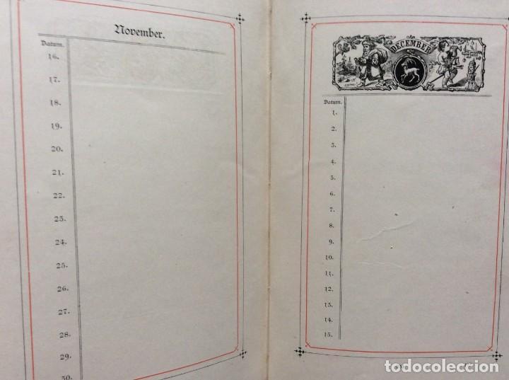 Libros antiguos: EXCELENTE ENCUADERNACIÓN. EJEMPLAR N.º 120 . EN ALEMÁN. - Foto 23 - 270370213
