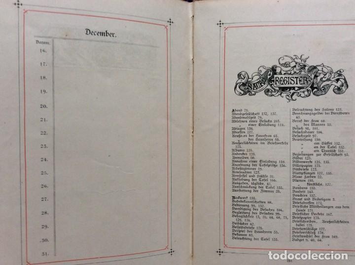 Libros antiguos: EXCELENTE ENCUADERNACIÓN. EJEMPLAR N.º 120 . EN ALEMÁN. - Foto 24 - 270370213