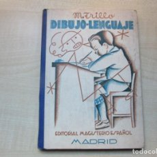 Libros antiguos: DIBUJO LENGUAJE MANUEL TRILLO ED. MAGISTERIO ESPAÑOL 1935 LIBRO DEL MAESTRO VER DESCRIPCIÓN. Lote 270555023