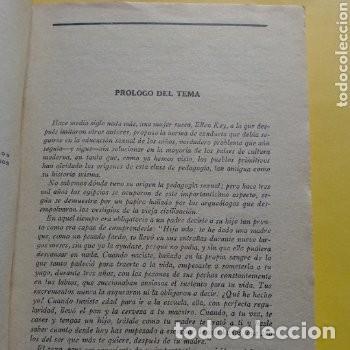 Libros antiguos: 1934 PRIMERA EDICION PEDAGOGIA SEXUAL A. MARTIN DE LUCENA - Foto 5 - 276246808