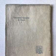 Libros antiguos: UNIVERSIDAD COMERCIAL DE DEUSTO. FUNDACIÓN VIZCAÍNA AGUIRRE.. Lote 123152176