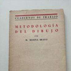 Libros antiguos: METODOLOGÍA DEL DIBUJO M. MEDINA BRAVO REVISTA DE PEDAGOGIA. Lote 287078443