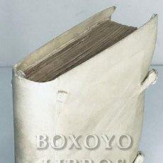 Libros antiguos: CHERPONTIIUS, JOANNES [JEAN CHERPONT]. LIBELLI ALIQUOT FORMANDIS TUM IUUENTUTIS MORIRIBUS. 1581. Lote 288172633