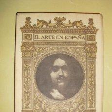 Libros antiguos: 1901-1930 RIBERA EN EL MUSEO DEL PRADO EL ARTE EN ESPAÑA. Lote 25806192