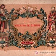 Libros antiguos: EL MAESTRO DE DIBUJO. PARIS. 20 PAGINAS CON GRABADOS.. Lote 25819158