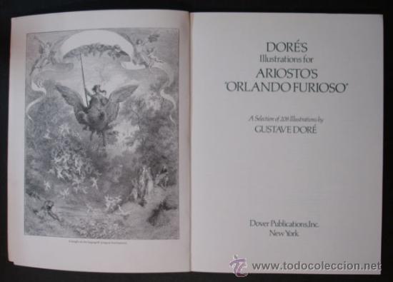 Libros antiguos: ILUSTRACIONES DE GUSTAVO DORÉ PARA ORLANDO FURIOSO SELECCIÓN DE 208 ILUSTRACIONES. - Foto 2 - 27211414