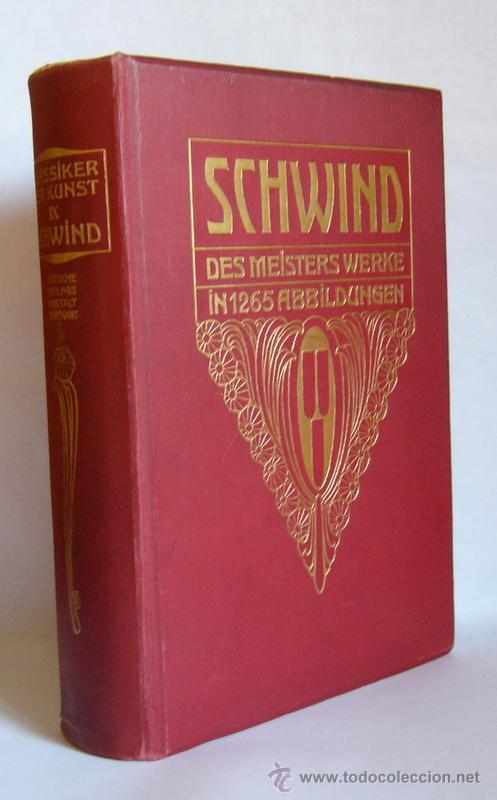 Deutsche Verlagsanstalt schwind des meisters werke otto weigmann comprar libros