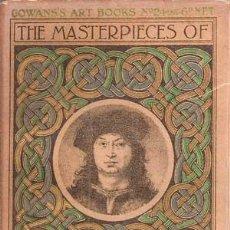 Libros antiguos: PERUGINO - THE MASTERPIECES OF ... (1909) COLECCIÓN GOWANS ART BOOKS Nº 24. Lote 29670425