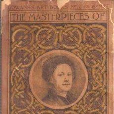 Libros antiguos: HOGARTH - THE MASTERPIECES OF ... (1910) COLECCIÓN GOWANS ART BOOKS Nº 33. Lote 29679869