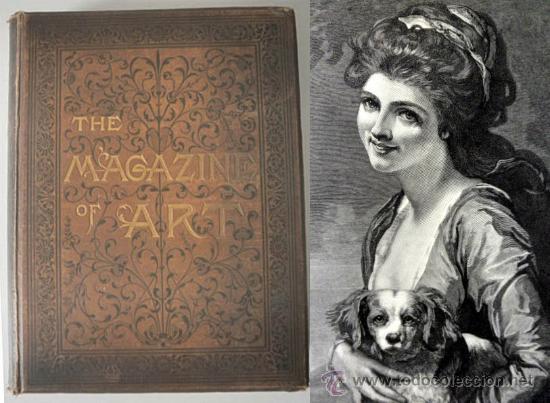 1885 THE MAGAZINE OF ART * VIII * NUMEROSOS GRABADOS (Libros Antiguos, Raros y Curiosos - Bellas artes, ocio y coleccion - Pintura)