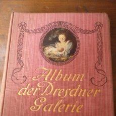 Libros antiguos: ALBUM DER DRESDNER GALERIE. Lote 31732704