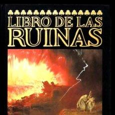 Libros antiguos: JORGE LUIS BORGES: LIBRO DE LAS RUINAS. PINTURAS DE JOHN MARTIN (1789-1854). . Lote 32627625
