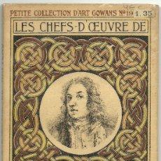Libros antiguos: LES CHEFS D'OEUVRE DE WATTEAU - REPRODUCCIONES DE PINTURA. Lote 32731410