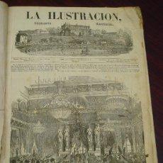 Libros antiguos: LA ILUSTRACION. PERIÓDICO UNIVERSAL. AÑO 1853. Lote 32785516