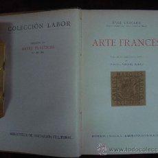 Paul Guinard. ARTE FRANCES. 1931. EDITORIAL LABOR.