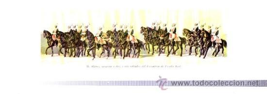 Libros antiguos: COMITIVA REGIA EN EL CASAMIENTO DE S.M. REY DE ESPAÑA D. ALFONSO XII CON DOÑA Mª CRISTINA DE AUSTRIA - Foto 8 - 34139606