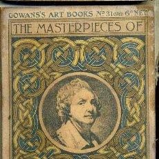 Libros antiguos: THE MASTERPIECES OF GREUZE (GOWAN'S ART BOOKS, C. 1910). Lote 35535932