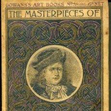 Libros antiguos: THE MASTERPIECES OF GERARD DOU (GOWAN'S ART BOOKS, C. 1910). Lote 35535970