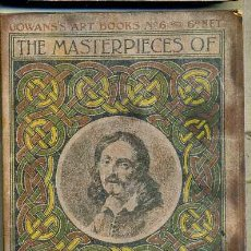 Libros antiguos: THE MASTERPIECES OF TENIERS (GOWAN'S ART BOOKS, C. 1910). Lote 35535990