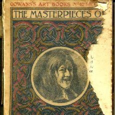 Libros antiguos: THE MASTERPIECES OF JAN STEEN (GOWAN'S ART BOOKS, C. 1910). Lote 35536066