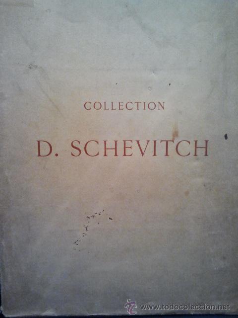 Libros antiguos: Collection de M.D.Schevitch. Objets dart et de haute curiosité. Tableaux Anciens. Paris, 1908. - Foto 3 - 36107347