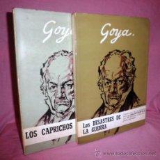 Libros antiguos: GOYA - LOS DESASTRES DE LA GUERRA·LOS CAPRICHOS - COLECCION DE AGUAFUERTES.. Lote 36619596