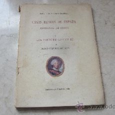 Libros antiguos: JOAQUIN EZQUERRA DEL RAYO - CASAS REALES DE ESPAÑA RETRATOS DE NIÑOS - LOS HIJOS DE CARLOS III. Lote 36650622