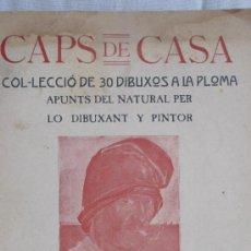Livros antigos: CAPS DE CASA. LLORENÇ BRUNET.. Lote 37544841