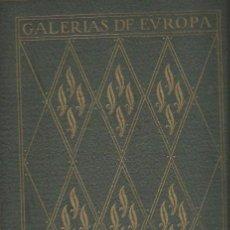 Libros antiguos: ALBUM DE LA GALERÍA DE PINTURAS DEL MUSEO DEL PRADO, MADRID, LABOR. Lote 40055807
