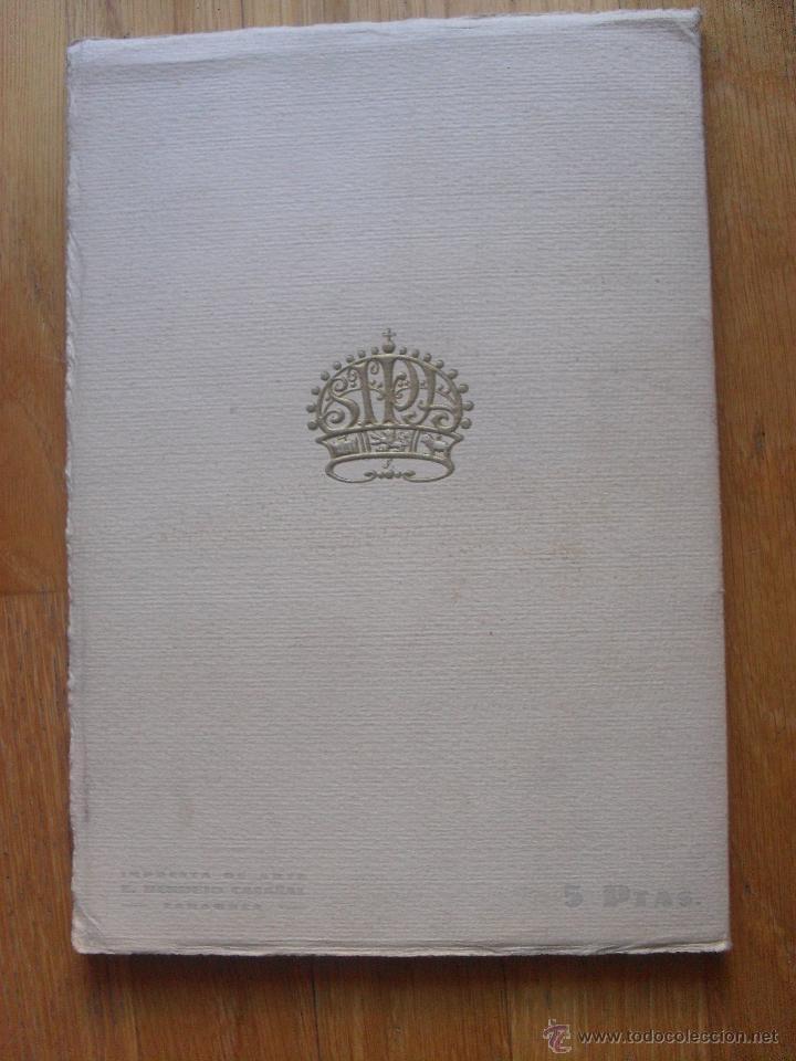 Libros antiguos: ARAGON REVISTA GRAFICA DE CULTURA ARAGONESA, ESPECIAL CENTENARIO GOYA - Foto 3 - 40377586