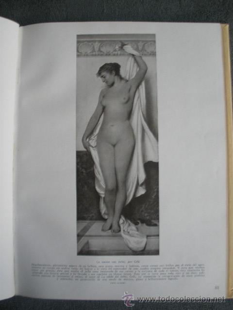 Libros antiguos: EL DESNUDO EN EL ARTE. POR EMILIANO M. AGUILERA. 1º EDICIÓN 1932. JUÁN GIL EDITOR - Foto 6 - 41290486