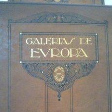 Libros antiguos: L- 454. GALERIAS DE EUROPA. MUSEO DEL PRADO, EDITORIAL LABOR. 1924.. Lote 43943804