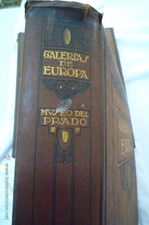 Libros antiguos: L- 454. GALERIAS DE EUROPA. MUSEO DEL PRADO, EDITORIAL LABOR. 1924. - Foto 2 - 43943804
