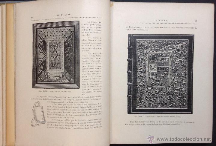Libros antiguos: LE PINCEAU. Journal Artistique Mensuel en Couleurs. 1ère Annee. [Revista]. - Foto 4 - 44037897
