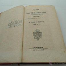Libros antiguos: CATALOGO DE LOS CUADROS DEL REAL MUSEO DE PINTURA Y ESCULTURA DE S.M. D. PEDRO DE MADRAZO 1854. Lote 46356237