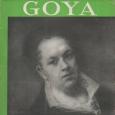 Libros antiguos: GOYA. EMILIANO M. AGUILERA. EDICIONES ENCICLOPÉDICAS ILUSTRADAS IBERIA, 1933. Lote 46523997