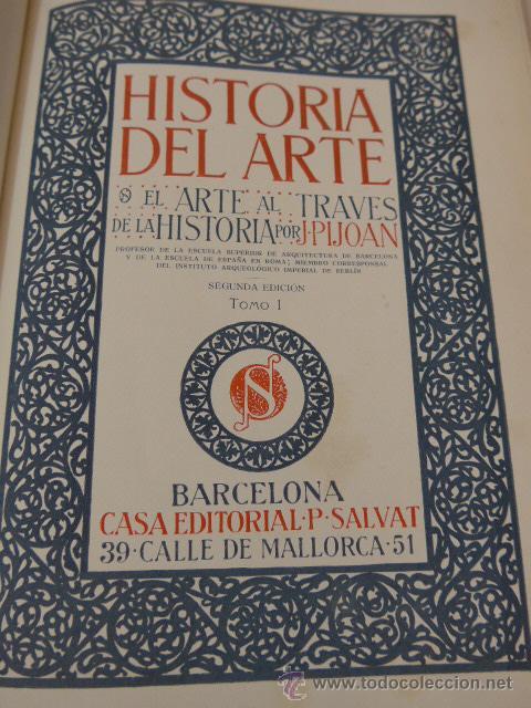 Libros antiguos: Muestrario del libro historia del arte, 1923, para hacer subscriptores - Foto 3 - 47709977