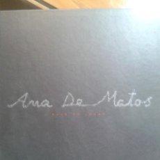 Libros antiguos: ANA DE MATOS TAPA DURA MUSEO PROVINCIAL DE LUGO 120 PAGINAS AÑO 2003. Lote 48275300